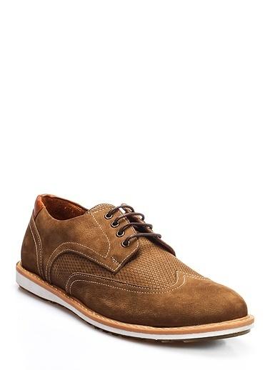%100 Deri Oxford Ayakkabı-İnci